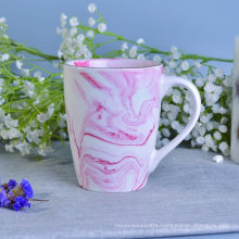 Factory Supplied Marble Patterned Ceramic Mug Sets for Coffee or Tea Drinking