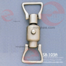 Imitation Gold PVC Leder Gürtel Hardware Tasche Zubehör