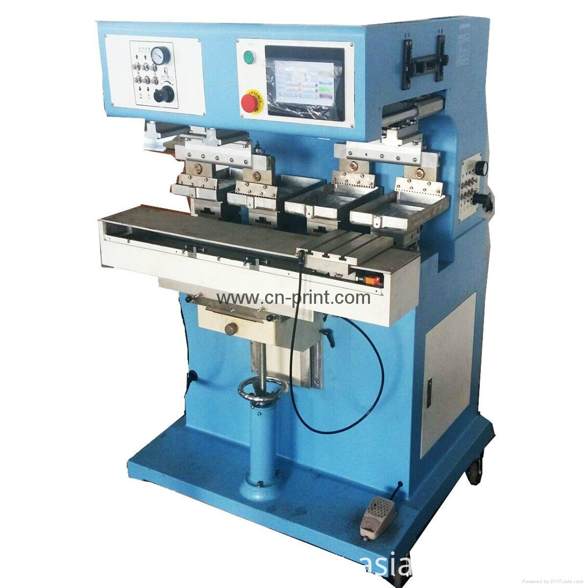independent pad printing machine