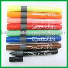 Waschbare Textil-Marker mit verschiedenen Farben