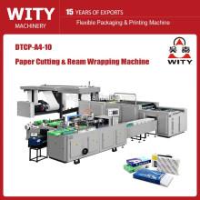 Máquina automática de corte e empacotamento de papel A4