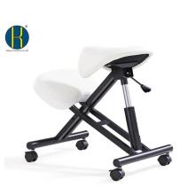 HY5001-1 деревянный/ металлический каркас для офиса эргономичный на коленях стул седло/ Регулируемая Высота / седло