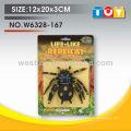 Sofr резины идеальное пластиковая игрушка паук модель smulation животных