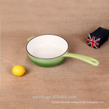 Pans Type and Eco-Friendly Feature cast iron long handle square pan
