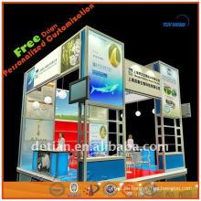 Portable und zerlegbare Messe Ausstellung Display Stände Foto Ausstellung Stände Display