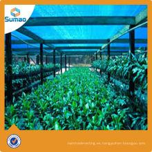 Red de sombra de vivero de hortalizas para cultivo / paño de sombra para uso agrícola