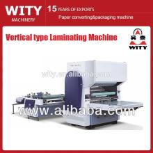 Máquina de laminación semiautomática de película vertical