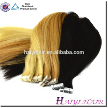 Top Quality Remy 100 european tape hair extension