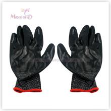 Gants de sécurité fonctionnants de polyester de nitrile de palmier de 13gauge, gants de jardin