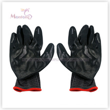 13gauge Palm Nitrile Dipped Polyester Working Safety Gloves, Garden Gloves