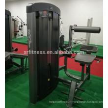 Chine gymnase équipement abdominale crumch arrière extension machine