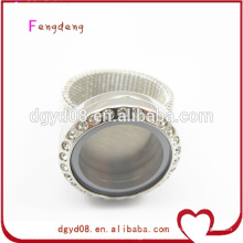 Stainless steel photo jewelry finger rings