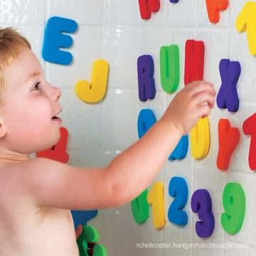 36pcs Puzzle Bath Toy EVA Letter Number Bathroom Game Kids Education Toy