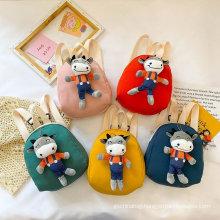 Factory price cartoon shoulders bag Children travelling backpack Kindergarten school bag