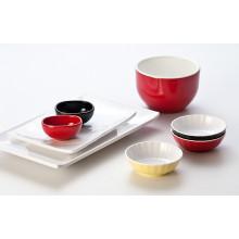 Меламин двухцветный салатник/миска/ (CC15712-06)