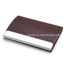 PU Leather ID Card Holder with Credit Card Holder