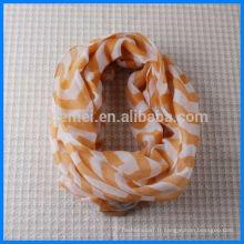 Écharpe écharpe à col rond en polyester