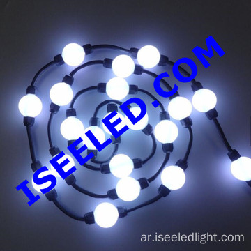 50mm DMX LED 3D Pixel Balls لعيد الميلاد