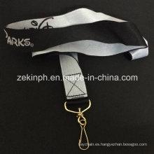 Logotipo personalizado cosido Nylon cuerda