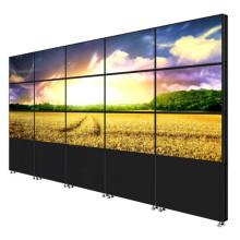 Parede original do vídeo da parede video sem emenda super da moldura estreita 82inch de Samsung a tela