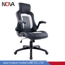 Nova Comfortable Leather Headrest racing swivel office chair