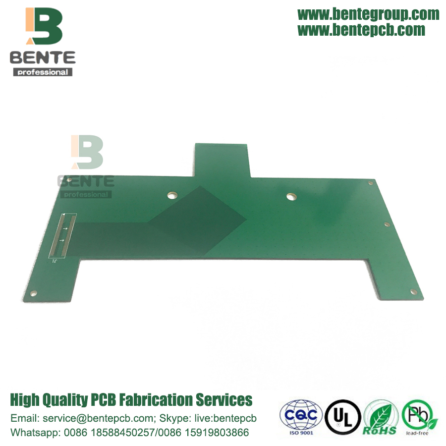 Big Size 2 Layer Prototyp PCB ENIG Signaladapter