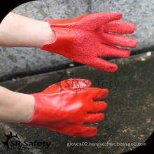 SRSAFETY Red chemical pvc glove dotting machine