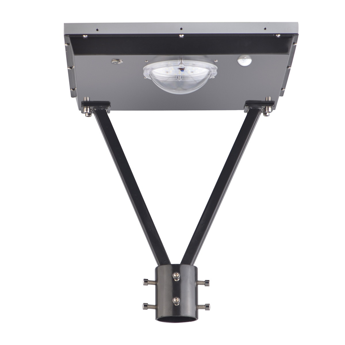 25W Square Solar led top light for gardens-2