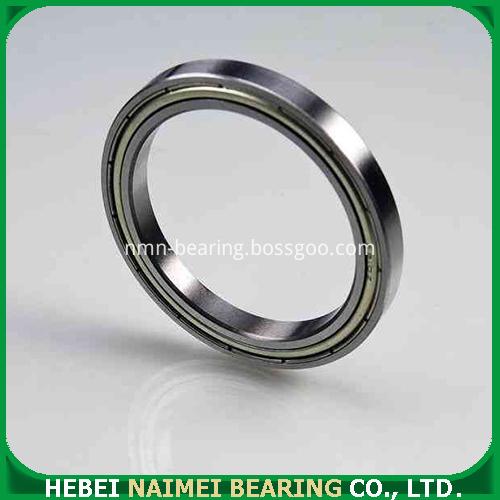 Thin-wall ball bearing