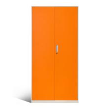 Armoires élégantes à 2 portes avec étagères et portes