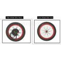 5000w FAT Rear Snow/Beach Wheel electric bike bicycle conversion kit 5kw electric bicycle motor