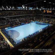 Китай Facroty продажи ПВХ спортивные покрытия для баскетбола / гандбола