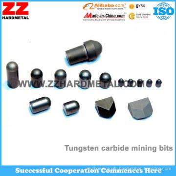 Flattop Shape Carbide Buttons
