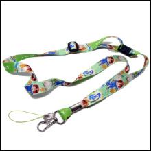 Customized Logo Neck Strap Lanyard Ribbon for Promotion Gifts