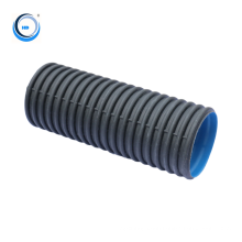 10 inch corrugated plastic drainage hdpe  pipe from china manufacturer