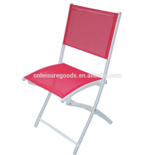 Steel and fabric sling Garden folding chair