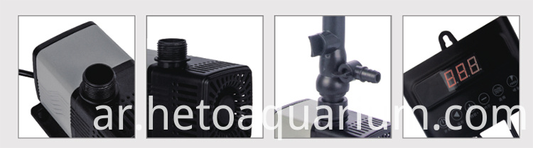 New Product VF6000DC Aquarium Pond Submersible Water Pump