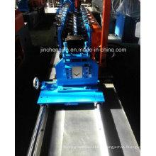Máquina formadora de teto para cantos angulares