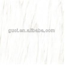 telhas de assoalho de mármore artificial cera para telhas de mármore branco