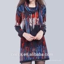 15STC6601 robe pull à imprimé numérique