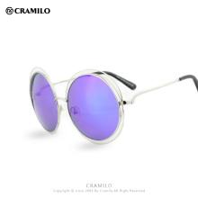 Moda para mujer Halo Double Wire Big Round ROXANNE Bohemian Sunglasses