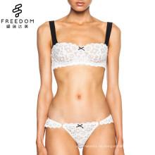 xxx Schule Mädchen Fotos neues Design weiche Spitze Bügel 32 Größe breit Strape Unterwäsche BH in Bildern