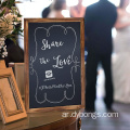 Wood board blackboard sticker kitchen menu breakfast chalkboard