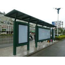Metal moderne peint arrêt de Bus abris auvent kiosque kiosque