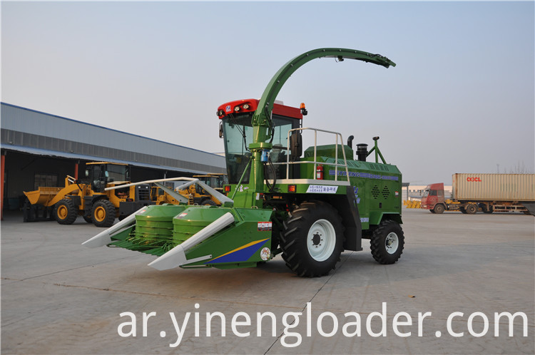 Silage Corn Combine Harvester