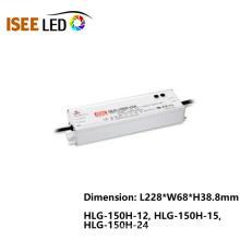 Fuente de alimentación HLG-150H Meanwell Waterproof LED