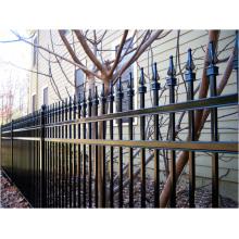 PVC enduit herbe bordure clôture