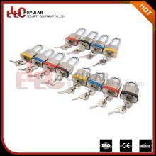 Elecpopular de alta calidad de seguridad pequeño bloqueo Shackle corto con el cuerpo de bloqueo seguro de 34 mm