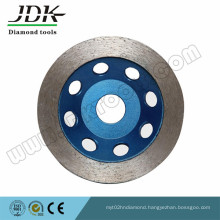 Continuous Segment Diamond Grinding Cup Wheel for Marble