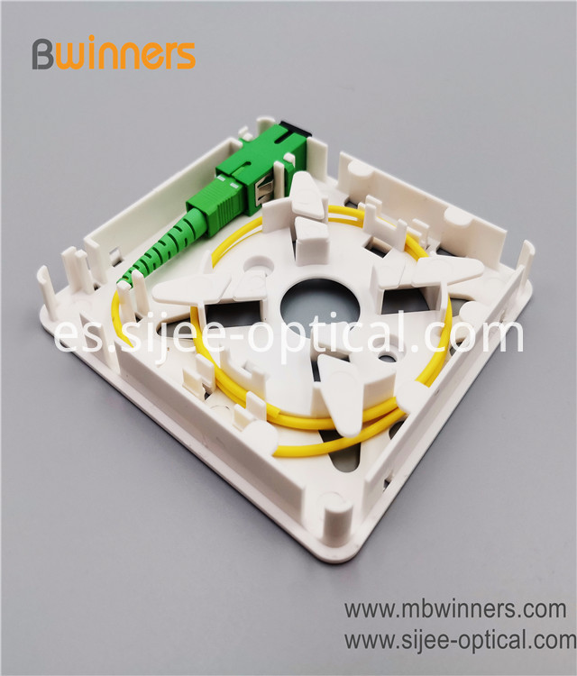 Fiber Optic Wall Socket